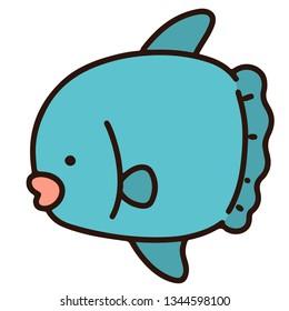 Simple Ocean Sunfish