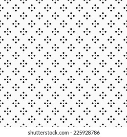 Simple pattern with dots seamless. Vector background eps10