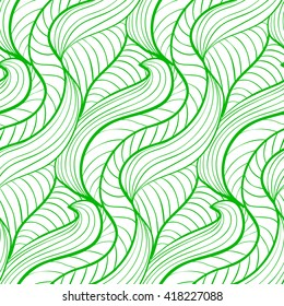 simple pattern of green lines on white background