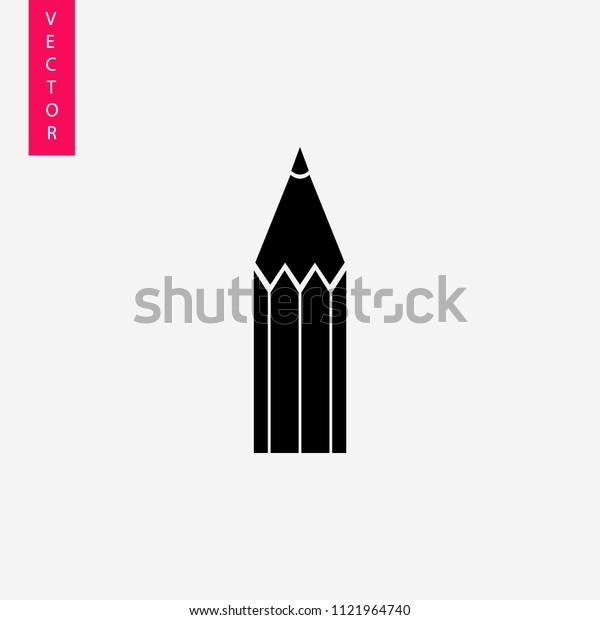 A simple pencil icon