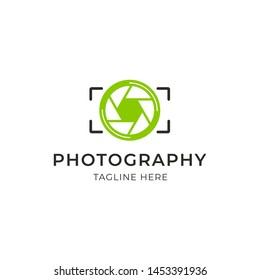 Simple Photography Logo Design Vector