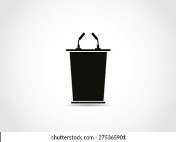 Simple Podium Icon