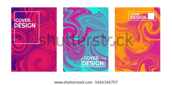 simple potrait design with colorful violet, red, and blue liquid flow. This design is suitable for psychedelic art purpose. good use vector for template book cover, brochure, flyer, and poster.