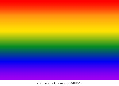 Simple pride colors background. Rainbow lgbt backdrop