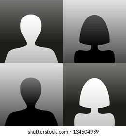 Simple profile images