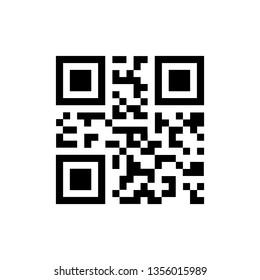 Simple QR code icon