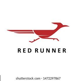 simple road runner logo designs template