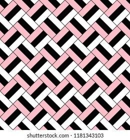 Simple seamless square pattern background - vector design