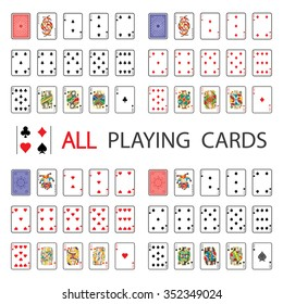 Simple Set: All Playing Cards