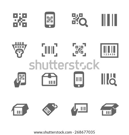 simple set check code related vector stock vector royalty free