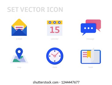 Simple Set of Flat Icon