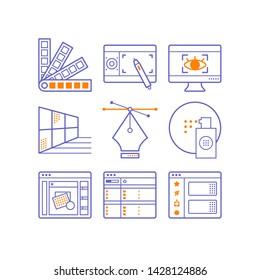 Ilustraciones, imágenes y vectores de stock sobre Adobe