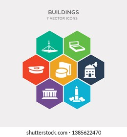simple set of washington monument, lincoln memorial, space, toilet side view icons, contains such as icons big stadium, bed 3d view, hook hanging material and more. 64x64 pixel perfect. infographics