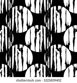 Simple shapes. Trendy seamless pattern designs.