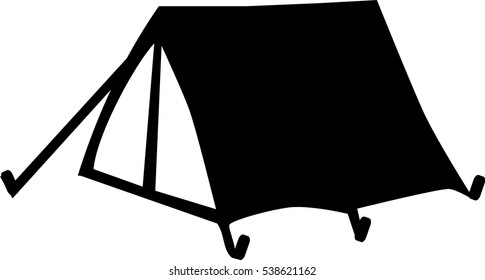 Simple small tent