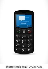 Simple smartphone for seniors