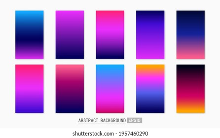 simple soft modern gradient muticolor background for wallpaper, template, cover, card, screen, texture, label, banner etc. techno theme vector design.