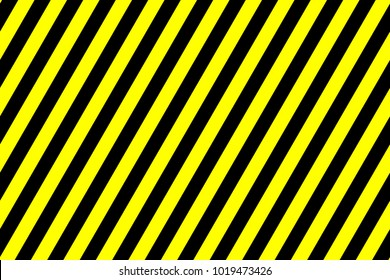 Simple striped background - black and yellow - line pattern