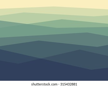 Simple texture of mountains in outlines.