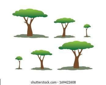 Simple tree vectors