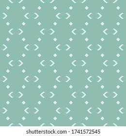 Simple Unique Abstract Shape  Diagonal Line Abstract Ethnic Ornament Blue Mint Monochrome Seamless Pattern Background Wallpaper. Pattern for Textile, fabric, paper, print, interior, decor and more.