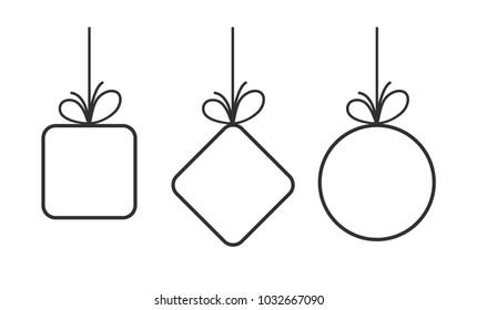 simple vector bow frame set