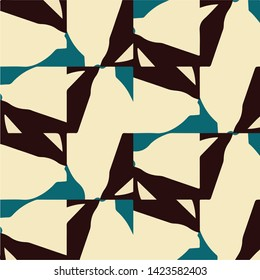 Simple vector illustration. Abstract geometric background pattern