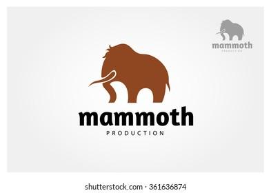 Simple Vector sign elephant