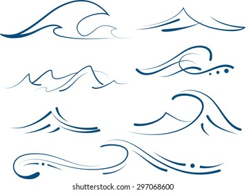 simple waves set