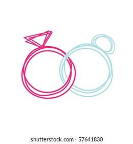 Ilustraciones Imágenes Y Vectores De Stock Sobre Mujer Con Anillo