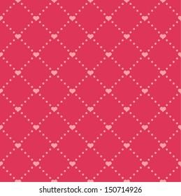 Simple wedding seamless pattern