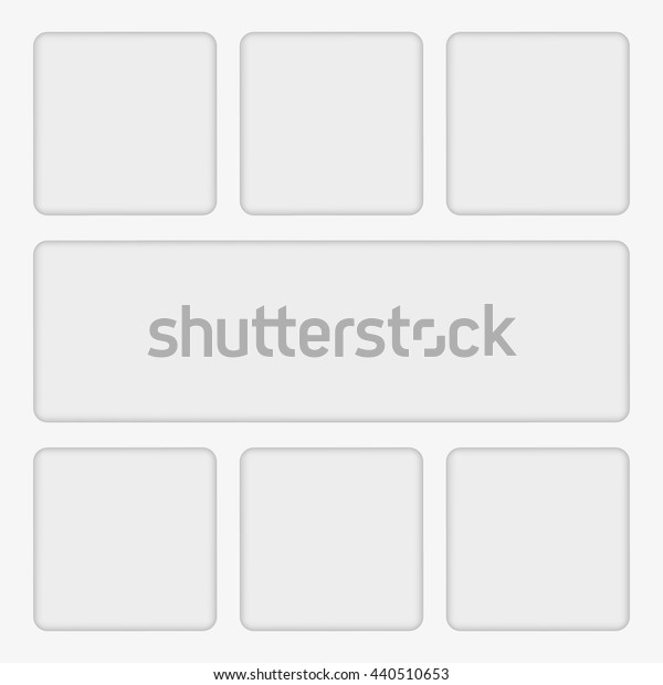 simple white clean empty banner floating over the background. vector