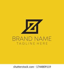 simple z letter elegant logo. z gaming logo vector.