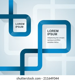 Simply minimal infographic template design. Vector illustration.