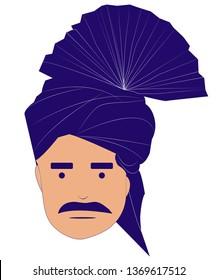 Sindhi Man vector