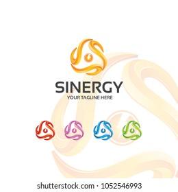 sinergy - logo template