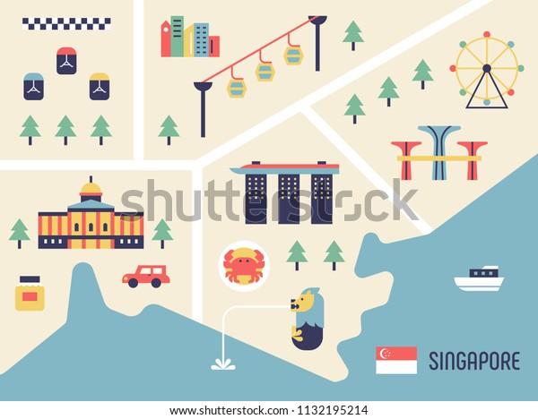 Singapore Tourist Map Landmark Icons Flat Stock Vector ... on singapore airport map, singapore district map, singapore oil map, singapore trade map, singapore climate, singapore places to visit, singapore city map, singapore neighborhoods, singapore hotels, singapore resource map, singapore mrt map 2013, singapore areas, singapore map directory, singapore subway system map, singapore sightseeing places, singapore travel, singapore 50th anniversary, singapore river map, singapore metro map,