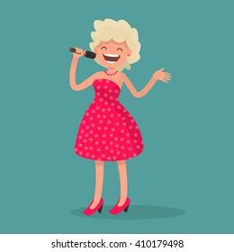 Soprano Singer Stock Vectors, Images & Vector Art | Shutterstock