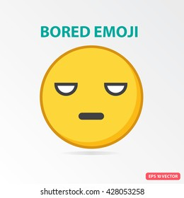 Bored emoji text