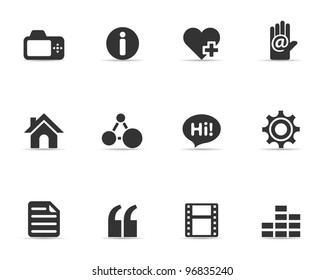 Single Color Icons - Personal Portfolio