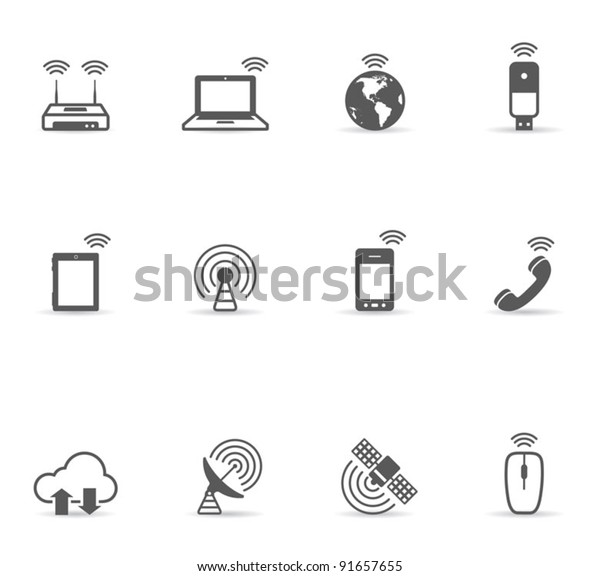 Single Color Icons - Wireless World