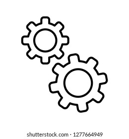 Single high quality artificial Intelligence related icon. Isolated artificial Intelligence symbols in white background. Graphic icons element