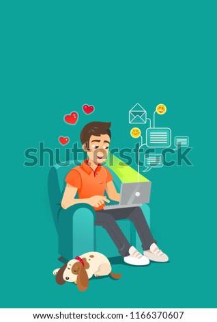 online dating single man