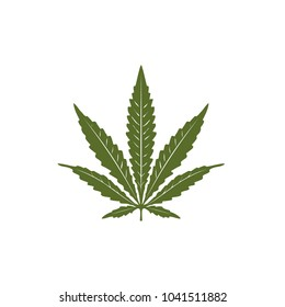 Single Pot / Cannabis leaf