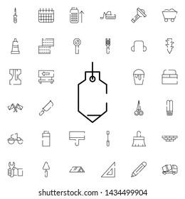 sinker icon. Universal set of construction for website design and development, app development