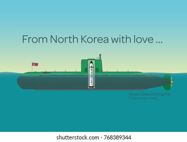 Sinpo Class Submarine From North Korea with love