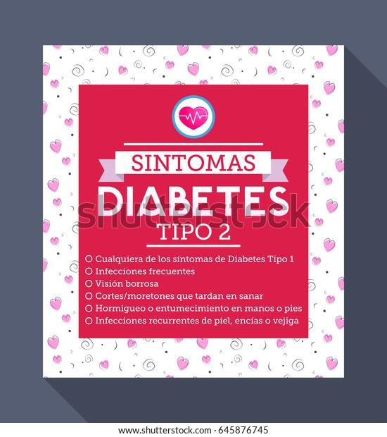 cuadro clinico diabetes 1 y 2