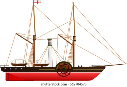 Dampfschiff Images Stock Photos Vectors Shutterstock
