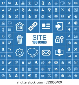 Site, Web, Internet and Development Vector Icons.