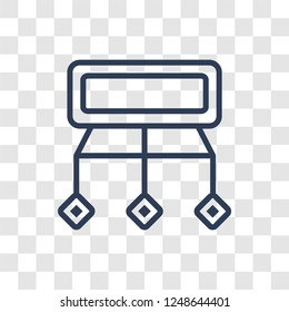 Sitemaps icon. Trendy linear Sitemaps logo concept on transparent background from Technology collection
